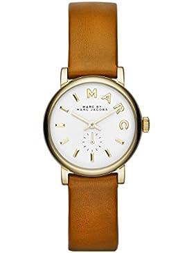 Marc Jacobs Damen-Armbanduhr XS Analog Quarz Leder MBM1317