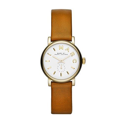 Marc Jacobs Women's Quartz Watch MBM1317 with Leather Strap