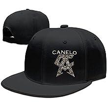 Hittings Tom Cool Unisex Classical Logo Canelo Alvarez Baseball Cap Black Black