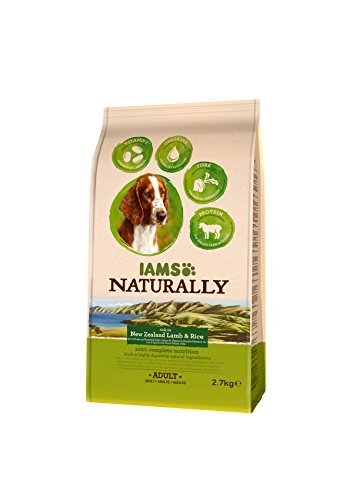 Iams Naturally New Zealand Dog Lamb (Dry Dog Food For Adult Dog with Lamb & Rice), 800 g 4