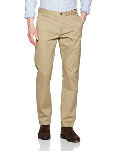 dockers-clean-slim-tapered-stretch-twill-pantalon-homme-marron-marina-british-khaki-0000-w33-l34
