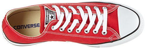 Converse, All Star Ox Canvas Seasonal, Sneaker, Unisex - adulto Rosso(rot)