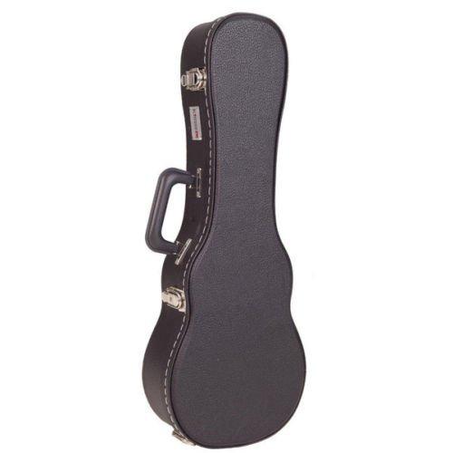 Kinsman KUC12 Standard Hartschalen-Gitarrenkoffer für Konzert Ukulele