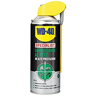 WD-40 39396/46 Specialist Lubrificante, Alte Prestazioni al PTFE, 400 ml