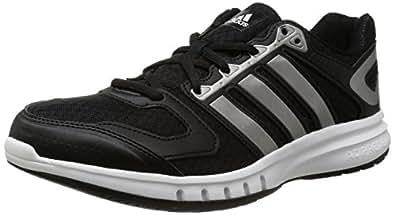 adidas Performance Galaxy, Herren Laufschuhe, Schwarz (Core Black/Iron Metallic/Core White), 40 2/3 EU (7 )