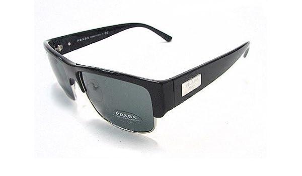 6fe411aeccd0 PRADA SPR 11M Sunglasses SPR11M Black 1AB-1A1 Shades: Amazon.co.uk: Clothing