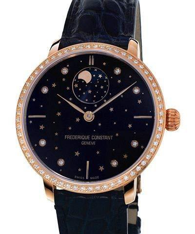 Frederique Constant donna Slimline 38.8mm Blue orologio automatico fc-701nsd3sd4