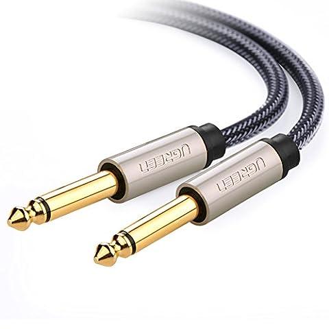 UGREEN Câble Audio 6,35mm Mâle vers 6,35mm Mâle 1/4