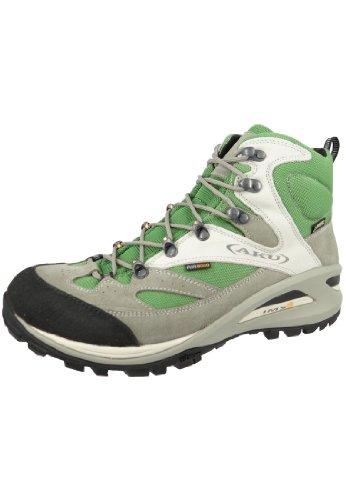 AKU chaussures de randonnée trekking 342-109 Trans Alpina GTX Hommes Gris Vert Gris-Verde
