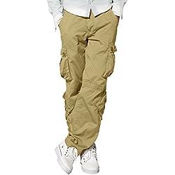 Match 3357 - Pantalones cargo para hombre(Caqui (3357 Khaki),34W x Regular (ES 44))