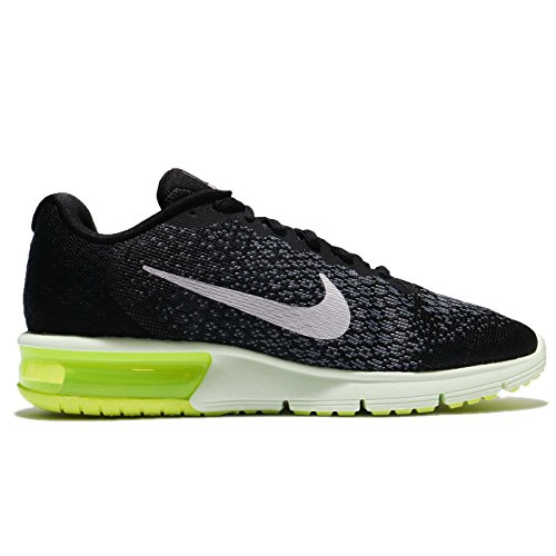 Nike  Air Max Sequent, Scarpe sportive, Uomo Black/Mtlc Cool Grey-anthracite