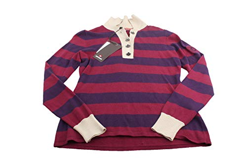 Murphy&Nye Medea Polo Herren Pullover Sweater Gr. S lila-rosa Neu