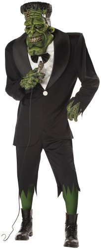 Frankenstein Kostüme (DELUXE BIG FRANK HALLOWEEN FRANKENSTEIN FANCY DRESS SCARY ADULT STAG)