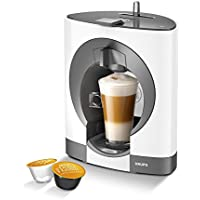 NESCAFE Dolce Gusto Oblo Manual Coffee Machine by Krups - White