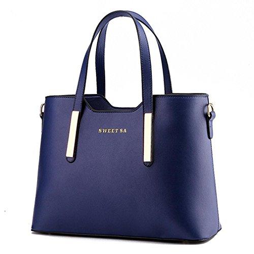 Hqyss Borse Da Donna Ol Commuter Trendy Borsa A Tracolla Donna Messenger Deep Blue