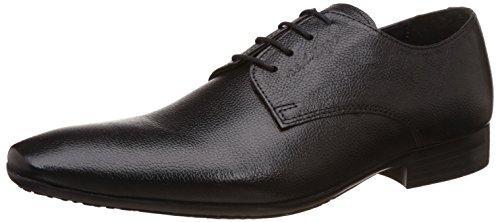 Red Tape Men's Derbys Black Leather Formal Shoes