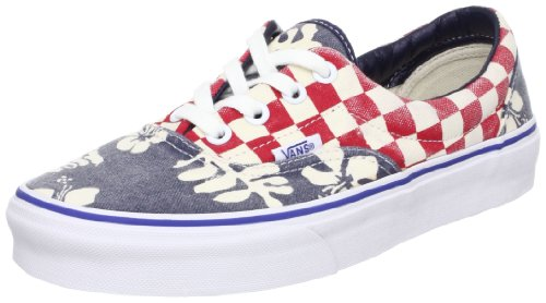 Vans Era Van Doren Aloha Checker Bleu
