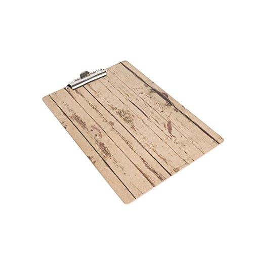 Nisbets, GM300helles Holz Effekt Clip Board, A4