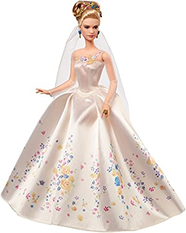 Princesses Disney - Cgt55 - Poupée Mannequin - Cendrillon - Robe De Mariée