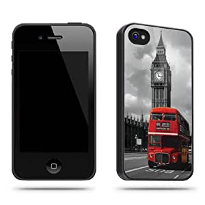 London Bus Big Ben Cool Retro Vintage Phone Case Shell for iPhone 4 / 4s