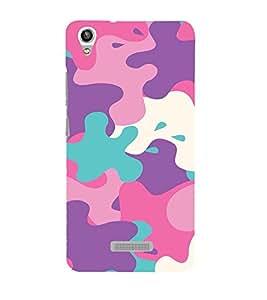 EPICCASE Color Spat Mobile Back Case Cover For Lava Pixel V1 (Designer Case)