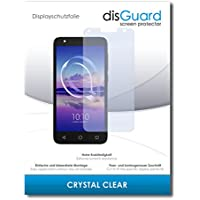 [2 Pack] Alcatel U5 HD Screen Protector Film disGuard® [Crystal Clear] Invisible, Transparent, Clear / Scratch Resistant, Bubble-Free Install, Anti-Fingerprint, Anti-Scratch / Film, Protector Film, Screen Guard