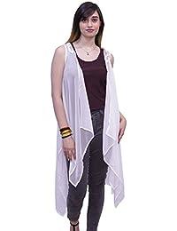 Mechant Fashions Kimono Shrug Crochet Work Shrug