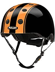 Melon Helm double orange black - Fahrradhelm, Skaterhelm, BMX Helm, Größe:XXS-S (46-52cm)