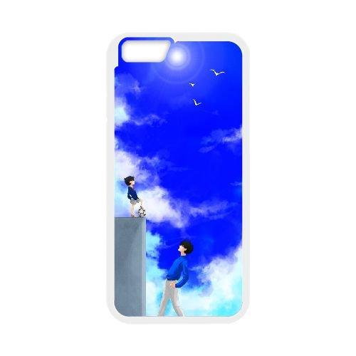 Detective Conan coque iPhone 6 Plus 5.5 Inch Housse Blanc téléphone portable couverture de cas coque EBDXJKNBO10131