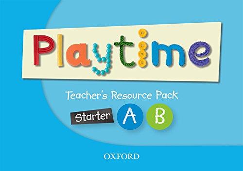 Oxford PlayTime Starter A & B Teacher's Pack