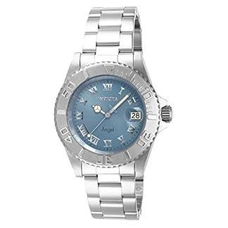 Invicta 14361 – Reloj de Pulsera Mujer, Acero Inoxidable, Color Plateado