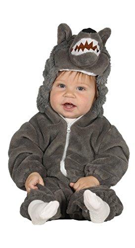 Imagen de disfraz de lobo gris baby para bebés