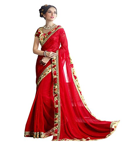 Designer saree Party wear sarees wedding sari bridal cotton silk Best Bollywood embroidered lahenga work printed sarees Blouse Multi-Coloured Print Latest Offers Sale cocktail , traditional , causal , Indo-Western , Fusion crepe Velvet & Net Georgette saris Below price With to Design sari buy online in Low Price Sale . . . . F0G-265  available at amazon for Rs.799