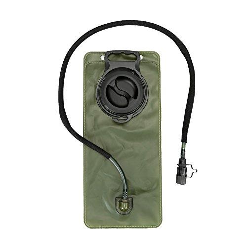 Docooler Laufen Hydration Ranzen Pack Rucksack + 2.5 L Wasser Blase Tasche Schwarz