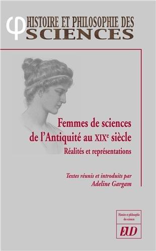 Femmes de sciences de l'Antiquité au XIXe siècle : Réalités et représentations