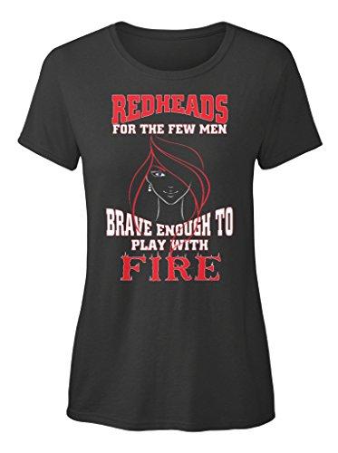 Stylisches T-Shirt Damen von Teespring | Originelles Outfit für jeden Anlass und lustige Geschenksidee - Redheads for the few men EU