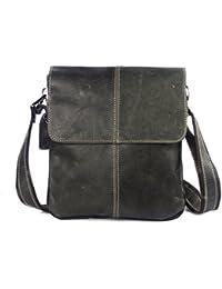 New Men Bag Fashion Leather Crossbody Bag Shoulder Men Messenger Bags Small Casual Designer Handbags Man Bags - B07B28KTCF