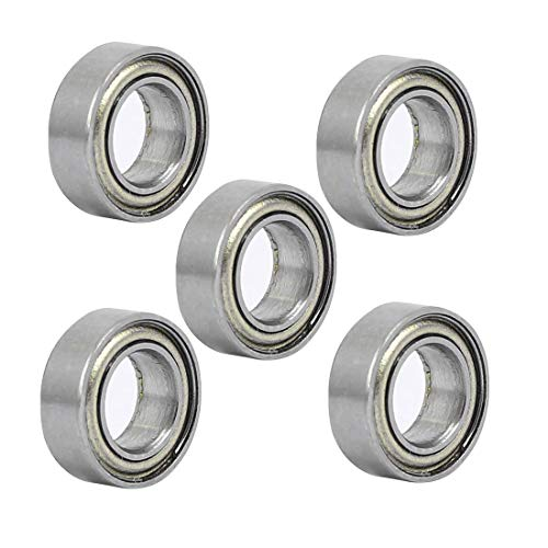 ZCHXD MR95ZZ 5mmx9mmx3mm Double Shielded Deep Groove Radial Ball Bearing 5pcs -