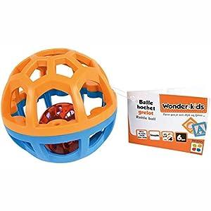 WDK Partner hkt717104-Pelota Cascabel-Modelo Aleatorio-Talla 10cm