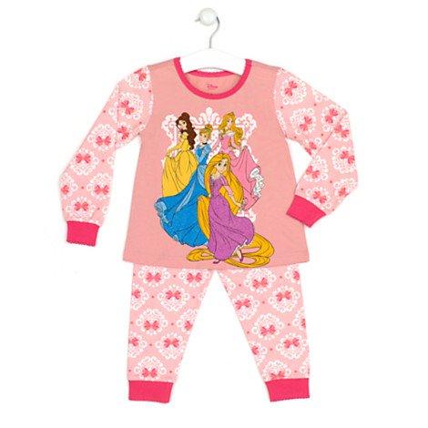 Disney Original Prinzessin - Pyjama für Kinder - Kostümpyjama für Kinder - Größe 5/6 Jahre