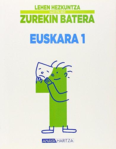 Euskara 1. (Hazi eta hezi) - 9788466790284 por Biotza Piko Gabantxo