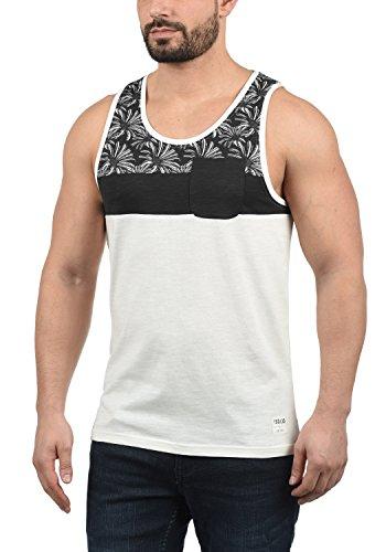 !Solid Flo Herren Tank-Top mit Rundhalsausschnitt aus 100% Baumwolle Regular Fit, Größe:XXL, Farbe:Black (9000)