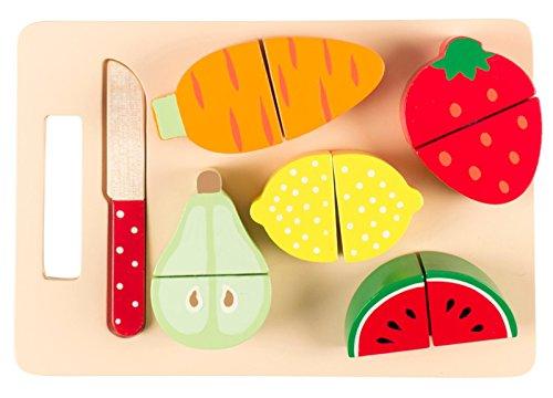 Sass & belle play001–set di frutta e verdura per tagliere