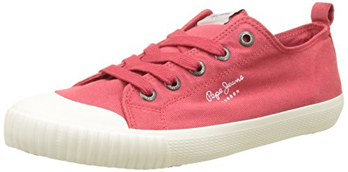 Pepe Jeans Industry Low Basic, Sneakers Basses Femme