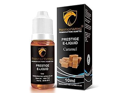 Prestige Vaping Caramel 10ml E-Liquid from Prestige Vaping