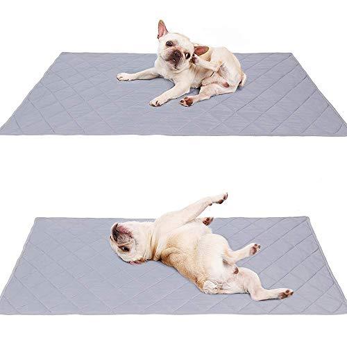 Liyanan Reversible Große Haustier Kühlmatte,Pad Für Welpen Bulldog Boston Terrier Lab Mops Golden Retriever,Hund Cool Decke Teppich Teppich Auf Bett Zwinger