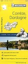 Correze/Dordogne (Michelin Local Maps)