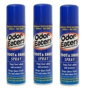 Odor Eaters Foot & Shoe Spray 150ml (3 Pack)