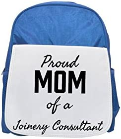 Proud Mom of a Joinery Consultant printed kid's Bleu Bleu Bleu  backpack, Cute backpacks, cute small backpacks, cute Noir  backpack, cool Noir  backpack, fashion backpacks, large fashion backpacks, Noir  fashion | à L'aise  25c45e