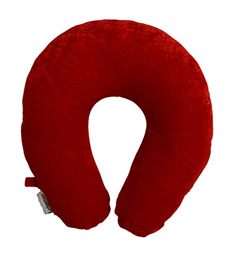 meSleep Red Travel Pillow with Loop